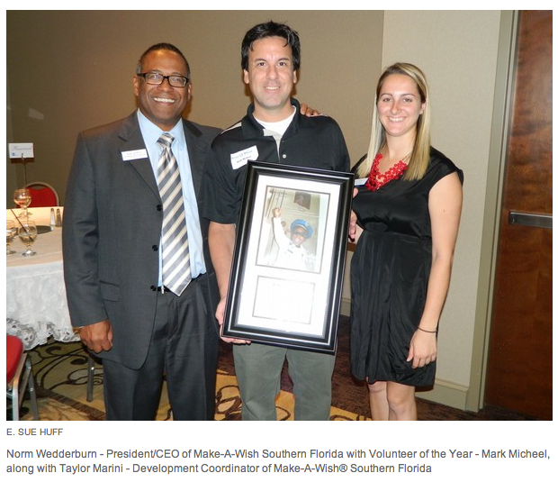 2013 MAW Volunteer of the Year Naples News article