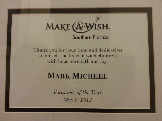 MM MAW Volunteer of the Year