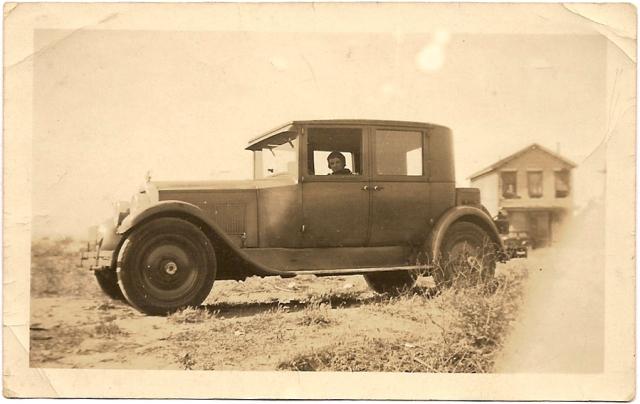 Circa 1935 car